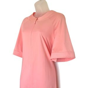Vtg Vanity Fair Robe 1970s Nightgown Peach Pink